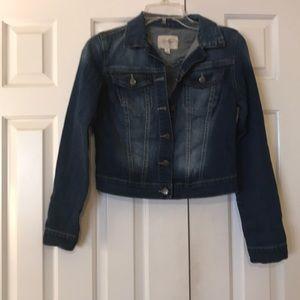*Jessica Simpson denim jacket EUC*Donating soon!